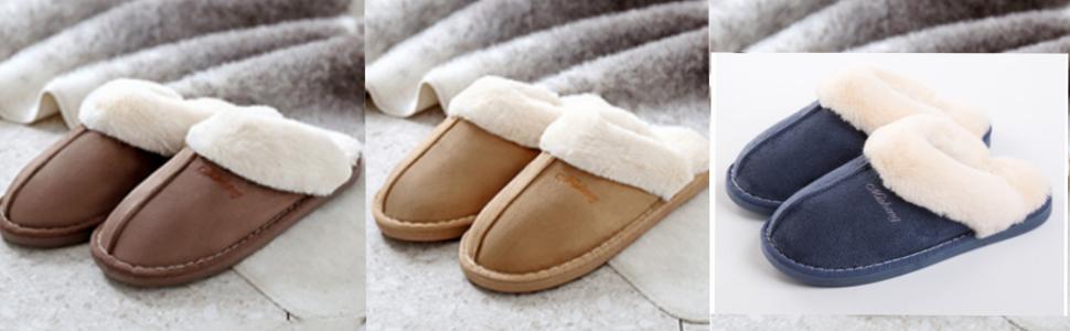 a839025d9 Amazon.com | SOSUSHOE Womens Slipper, Fluffy Slip On House Slippers ...