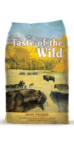 High Prairie, Venison, Bison, Venison dog food