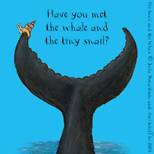 julia donaldson, axel scheffler, the snail and the whale