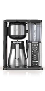 Ninja specialty coffee maker, coffee brewer, french press, espresso machine, iced coffee, coffee bar