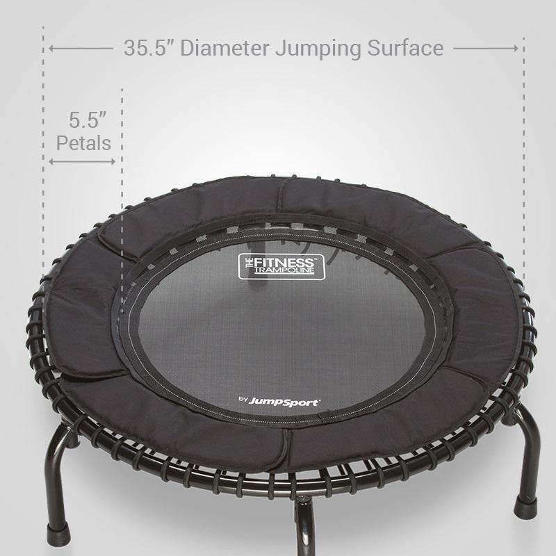 Fitness Trampoline, In-Home Rebounder