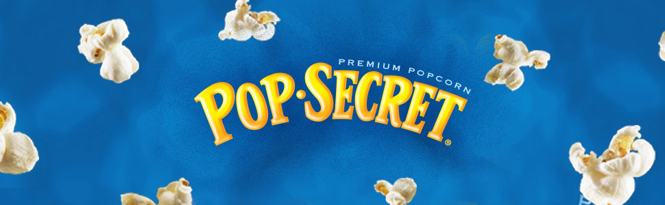 POP SECRET popcorn boxes, Double Butter, Movie Theater Butter and Homestyle