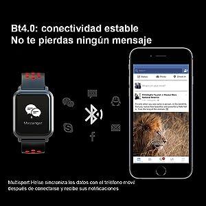 Siempre conectado con tu móvil gracias a las notificaciones en pantalla