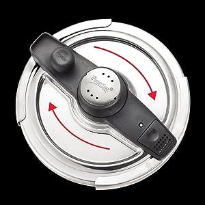 Prestige Svachh Clip-on Mini Stainless steel 3 Litre Pressure Cooker SPN-FOR1