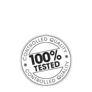 Testato al 100%
