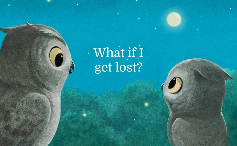 Fear, lost, owl, children, book