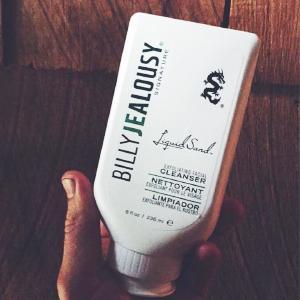 LiquidSand, Billy Jealousy, Face scrub, exfoliator, skin care, skin, men's health