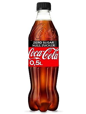 Kellnerschürze Coca-Cola Zero Servierschürze Länge 87x Breite 97 cm SELTEN !