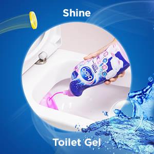 toilet gel