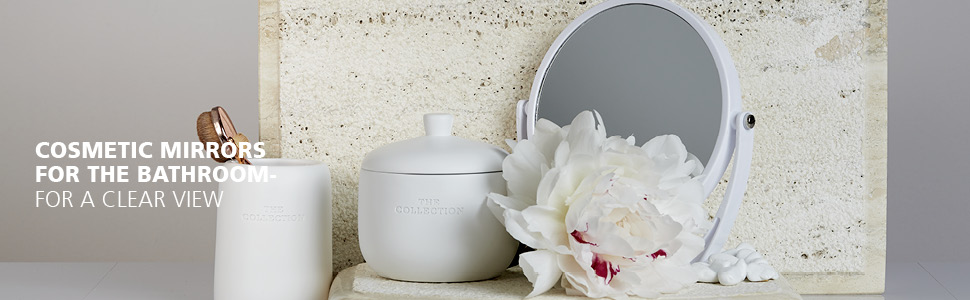 Cosmetic mirrors for the bathroom - WENKO provides a clear view Timelessly beautiful