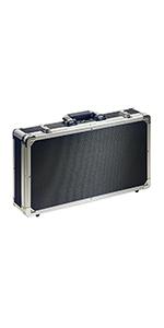 Stagg UPC-688 - Estuche para pedales de efectos de guitarra, color negro y plateado: Amazon.es: Instrumentos musicales