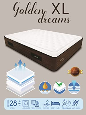 colchón viscoelástico golden dreams