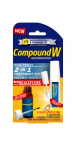 Compound W 2-in-1 Treatment Kit