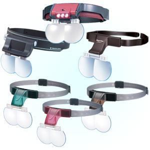NEW TERASAKI head loupe mega view compact slide adjustable type MGC-N From JAPAN