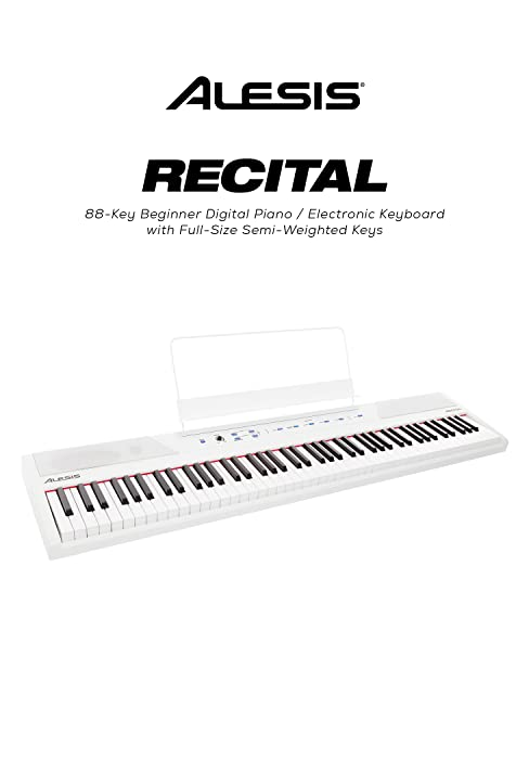 88 Key Digital Electric Piano / Keyboard with Semi Weighted Keys