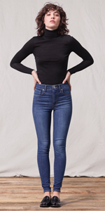 Amazon Skinny At Rise Jeans Levi's Women's 720 High Super AWz8ASFf
