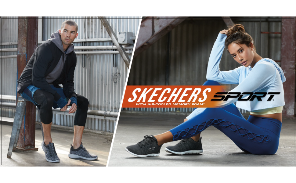 Mens skechers performance sport active comfort lifestyle casual athleisure shoe