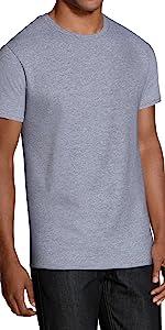 Unisex im 3er Pack aus Reiner stapazierf/ähiger Baumwolle zum Sparpreis JOLO Underwear T-Shirt halbarm