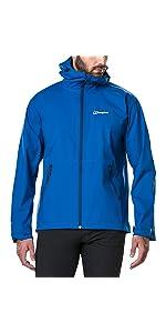 Berghaus Bekleidung Weitere Sportarten Stormcloud Waterproof Jacket Men black XXL Hardshell Regenjacke