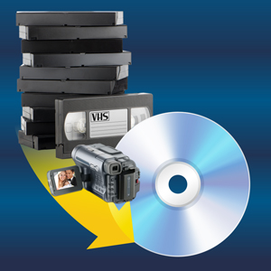 VHS;DVD;camcorder;home video;VHS to DVD;Convert VHS;digitalize VHS;convert video;dvd burner