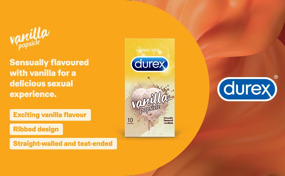 Durex Vanilla Popsicle