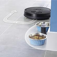 robot, aspirador, roomba, limpieza, inteligente, hogar, pared virtual