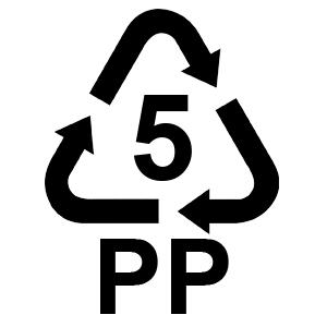 Nevera fabricada de plástico
