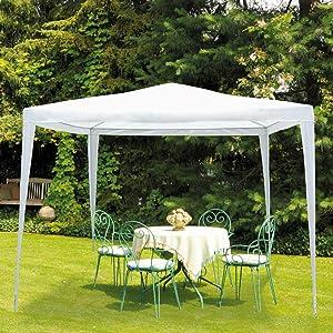 Aktive - Cenador de 300 x 300 x 250 cm, poliéster, color verde (ColorBaby 53858): Amazon.es: Jardín