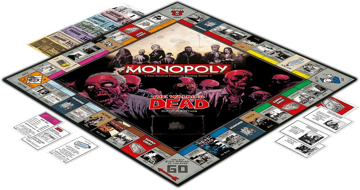The fan Dead i Monopoly per Walking Survival Edition Die MpqSGVLUjz