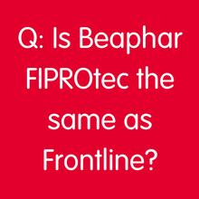 Is FIPROtec the same as Frontline?