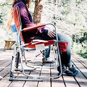 Groovy Gci Outdoor Freestyle Rocker Portable Folding Rocking Chair Lamtechconsult Wood Chair Design Ideas Lamtechconsultcom