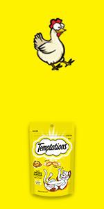 Cat treats, temptations