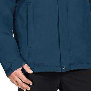 Vaude Mens Kintail 3-in-1 Iii Double Jacket