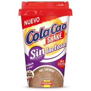 Cola Cao Shake Sin Lactosa - Paquete de 10 x 200 ml