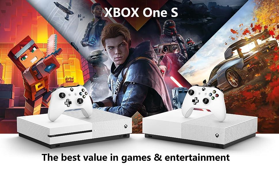 Xbox One S 1TB All-Digital Edition Console