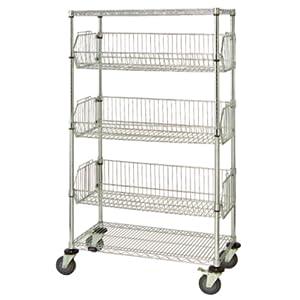 mobile basket unit