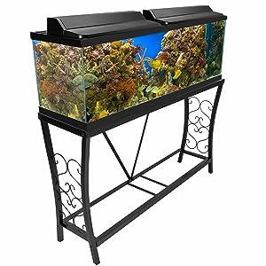 Amazon.com : Aquatic Fundamentals AMZ-102102 10 Gallon ... 10 Gallon Fish Tank Stand