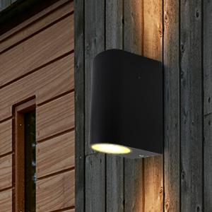 Make a Right choice with Zenon Lighting & Modern Black Double Outdoor Wall Light IP44 Up/Down Outdoor Wall ... azcodes.com