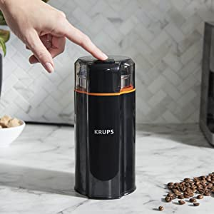 KRUPS, Silent Vortex Grinder, Crush, coffee grinder, herbs grinder, spice grinder