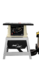 dust collection, router table dust collection, table saw dust collection