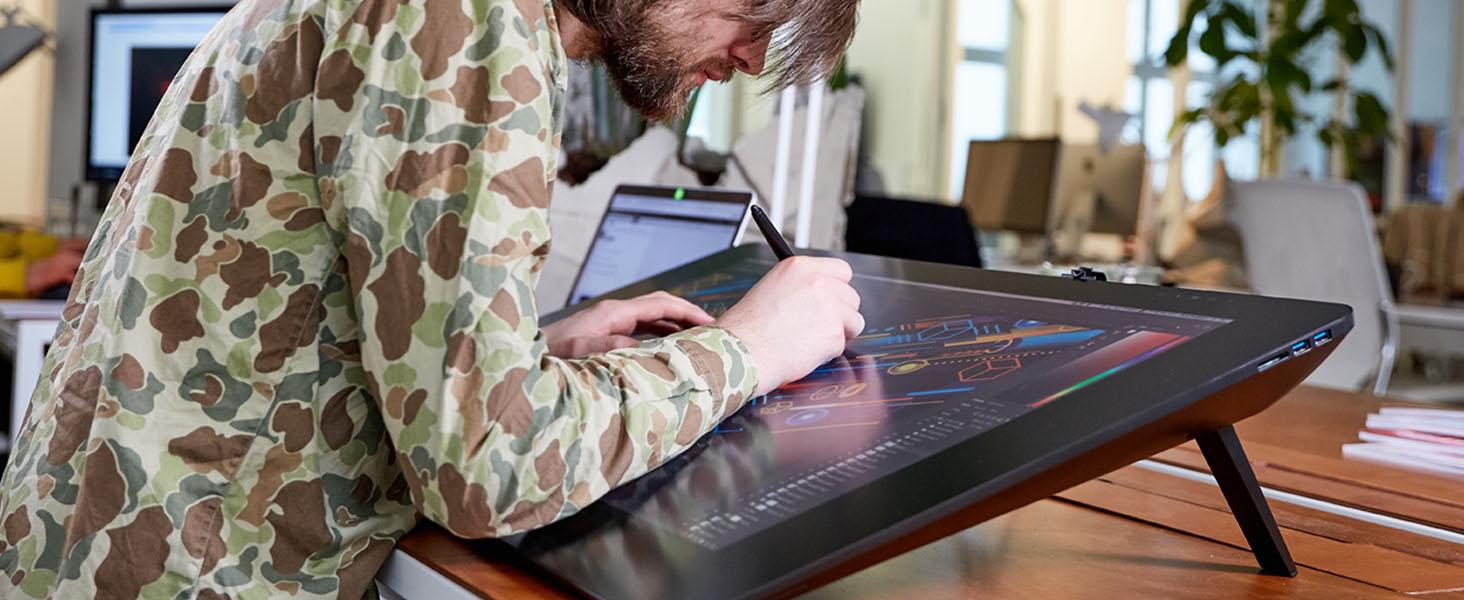 graphics tablet, cintique, drawing monitor Wacom Cintiq, drawing tablet with screen, drawing display