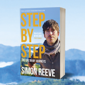 Paperback packshot of Step by Step by Simon Reeve
