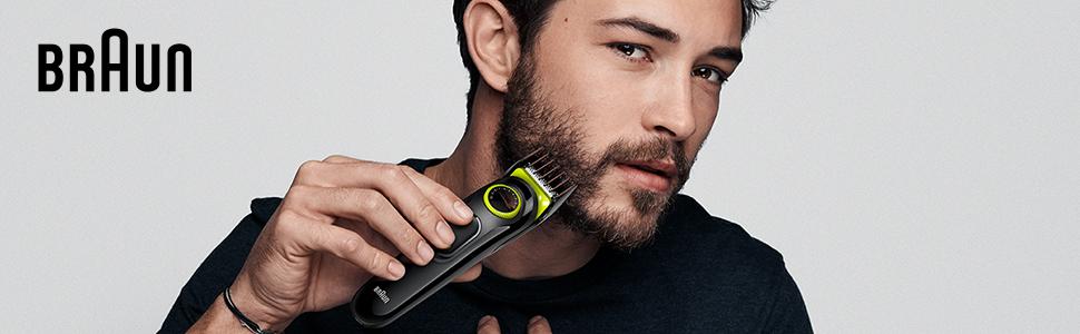 Braun Barba recortadora