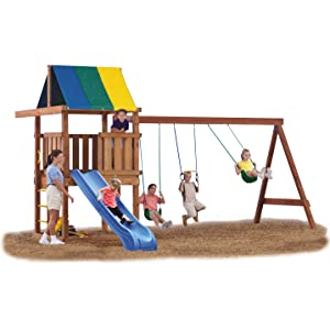 Amazon Com Swing N Slide Ne 4476 Wrangler Deluxe Play Set Hardware