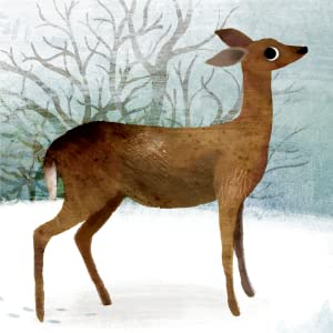 sharing, bedtime reading, anthology, nature poetry, classroom anthology, nature artwork, deer, poems