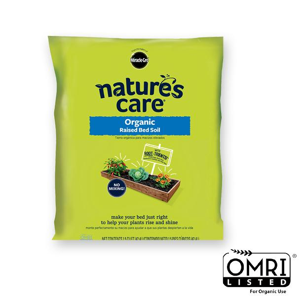 Nature 39 s care 72259120 organic raised bed - Nature s care organic garden soil ...