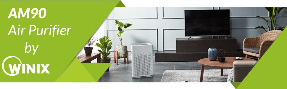 Air Purifier, AM90, Air Cleaner, Winix, Alexa, Winix Smart