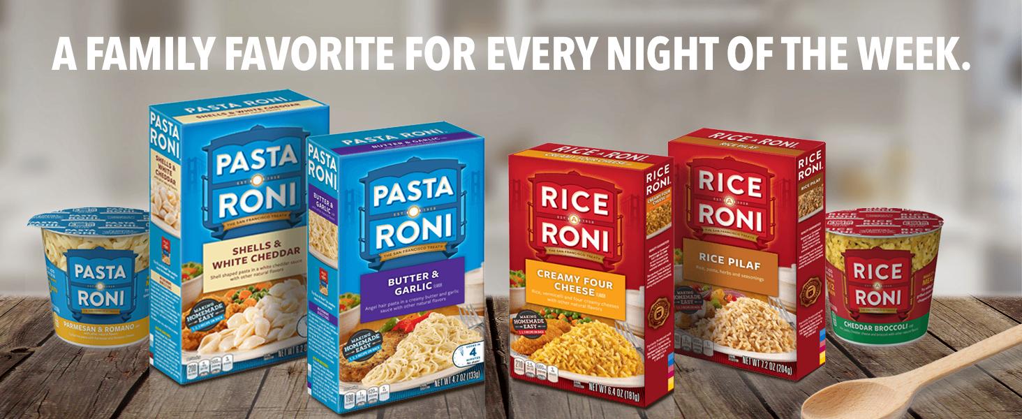 roni rice pasta dinner