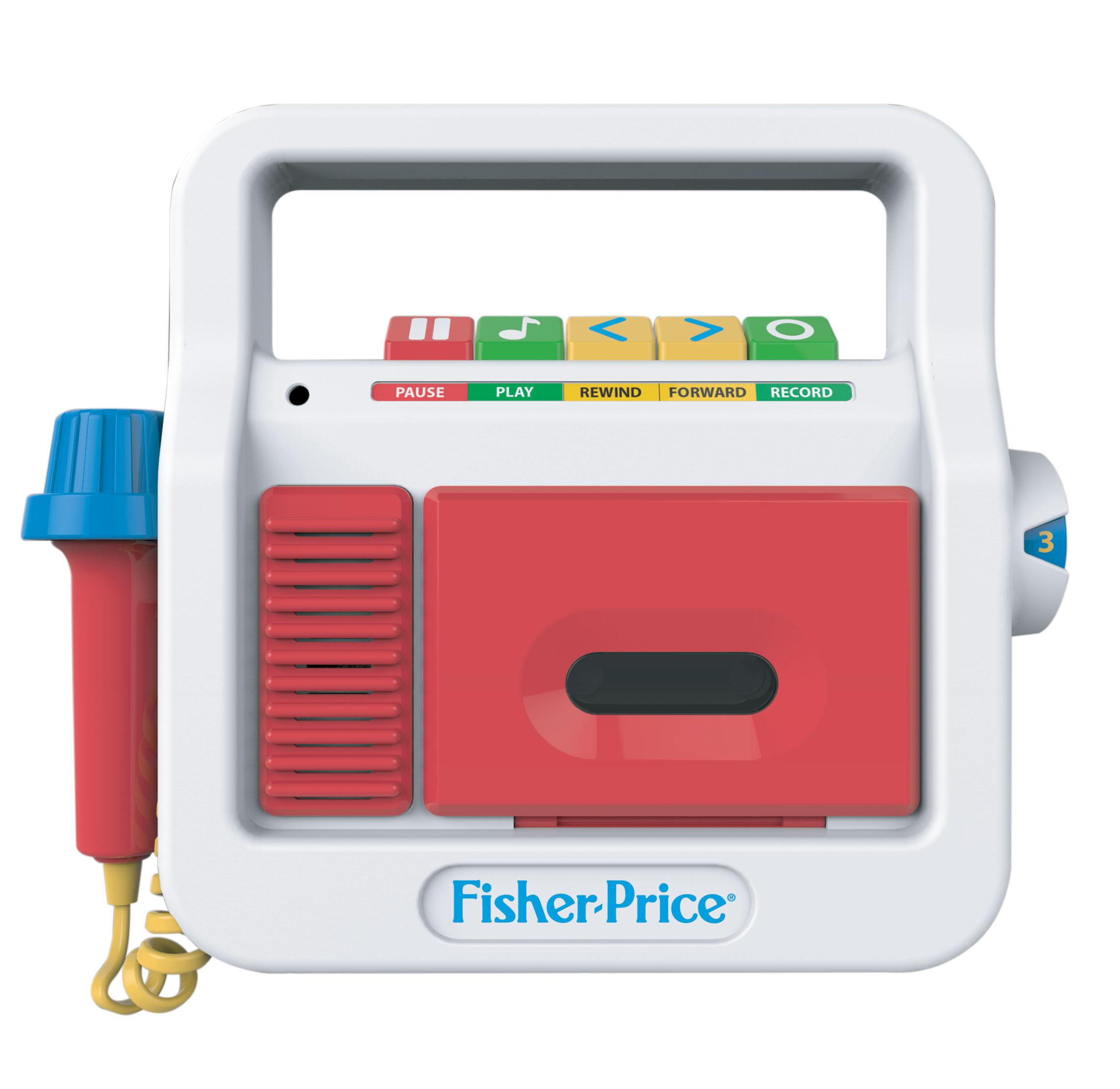 Fisher Price Classics Play Tape Recorder: Amazon.ca: Toys & Games