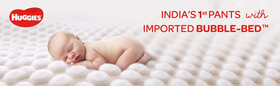 India's 1st Pants with Imported Bubble Bed
